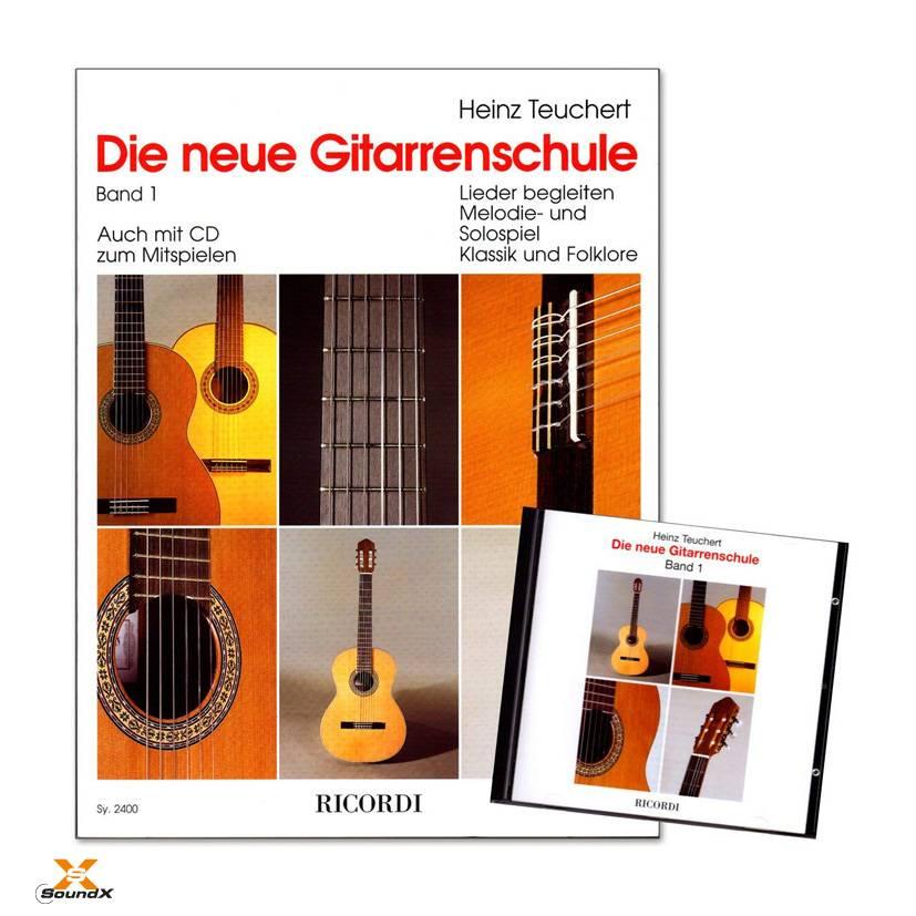 Ricordi Die neue Gitarrenschule Band 1