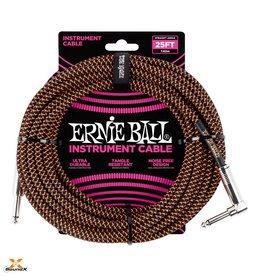 Ernie Ball Ernie Ball Instrumentenkabl Schwarz/Orange