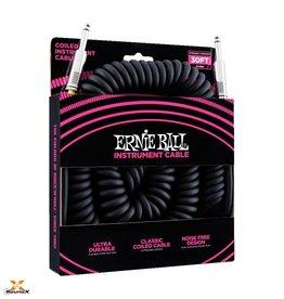 Ernie Ball Ernie Ball Spiralkabel Schwarz