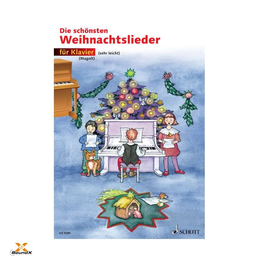 Schott Die schönsten Weihnachtslieder für Klavier