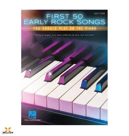 Hal Leonard First 50 Early Rock Songs You Shoult Play On The Piano