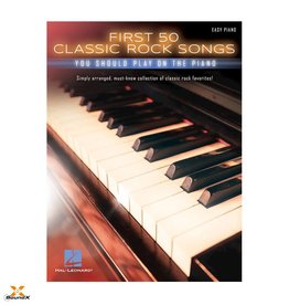 Hal Leonard First 50 Classic Rock Songs You Should Play on Piano