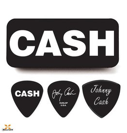 "Dunlop Dunlop Tin Box Johnny Cash ""Bold"""