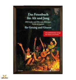 Schott Das Fetenbuch für Alt und Jung - Gitarre