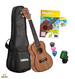 Cascha Premium Konzert Ukulele Bundle