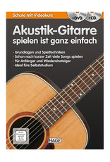 HAGE Akustik-Gitarre spielen ist ganz einfach