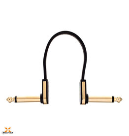 EBS Flat Patch Cable Gold 10cm