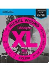 D'Addario D'Addario EXL150 12-String