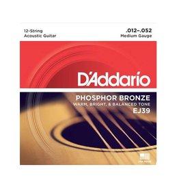 D'Addario D'Addario EJ39 12-String