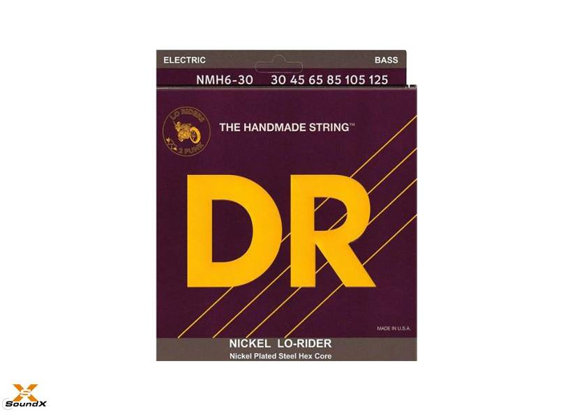 DR Strings DR Strings Lo-Rider NMH6-30 6-String