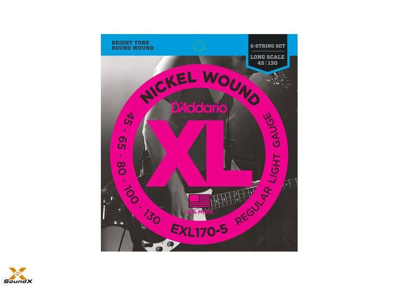 D'Addario D'Addario EXL170-5 5-String