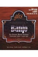 GHS 6-String Banjo PF120