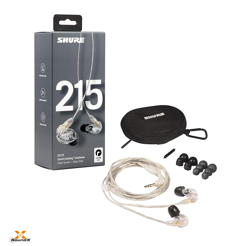 Shure Shure SE215-CL-EFS Sound Isolating Ohrhörer