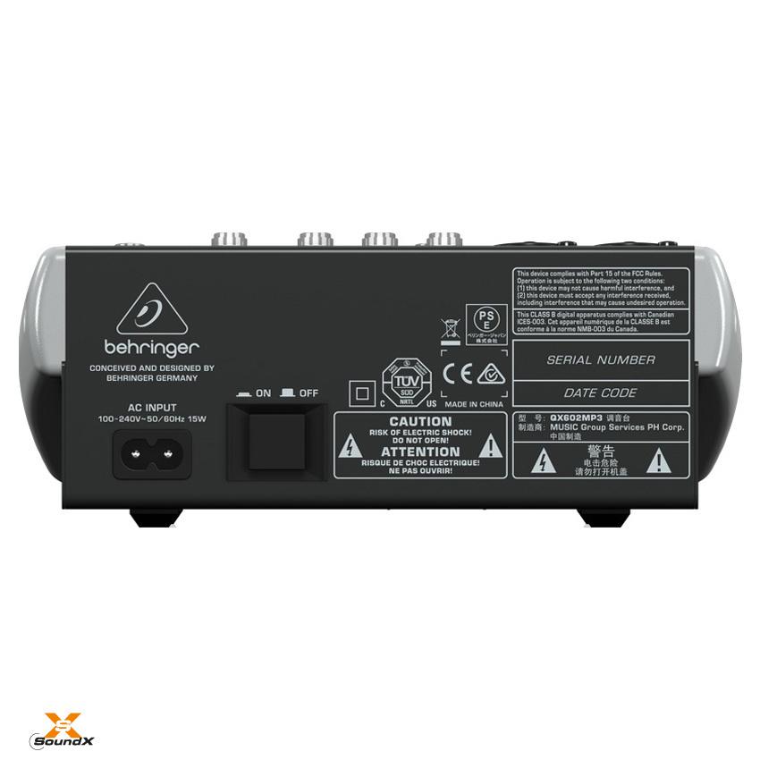Behringer Behringer Xenyx QX602MP3