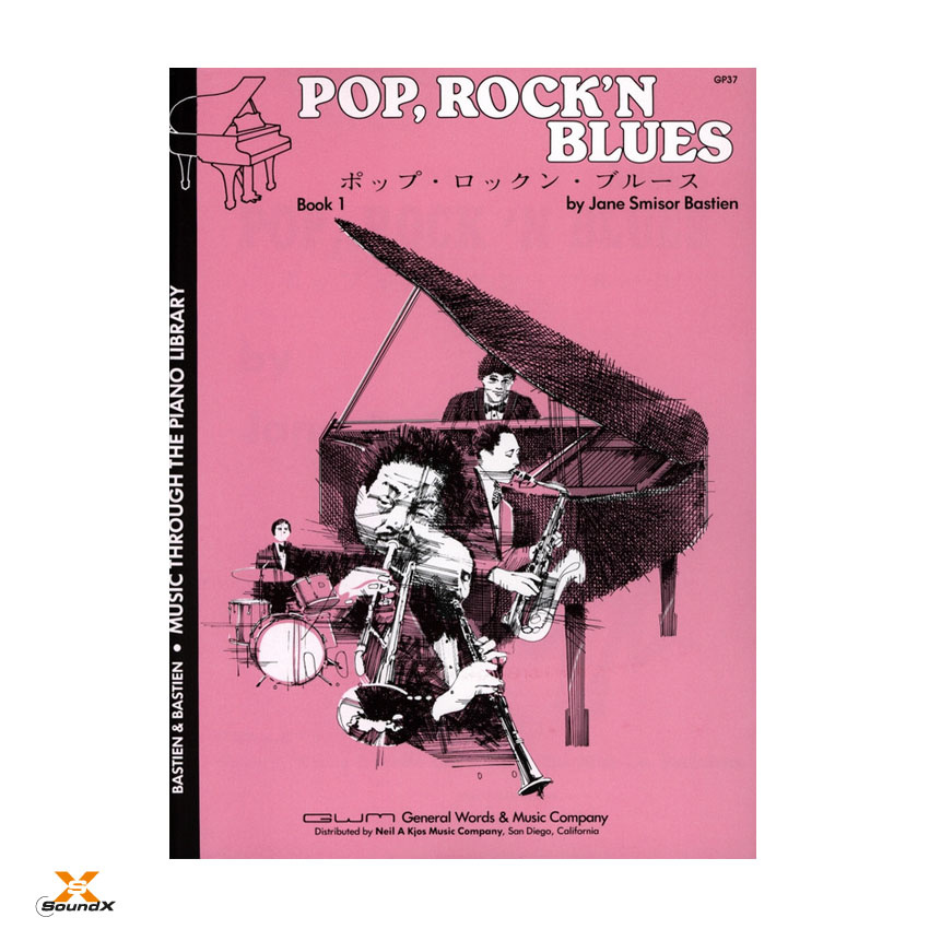 Pop, Rock'n Blues Book 1
