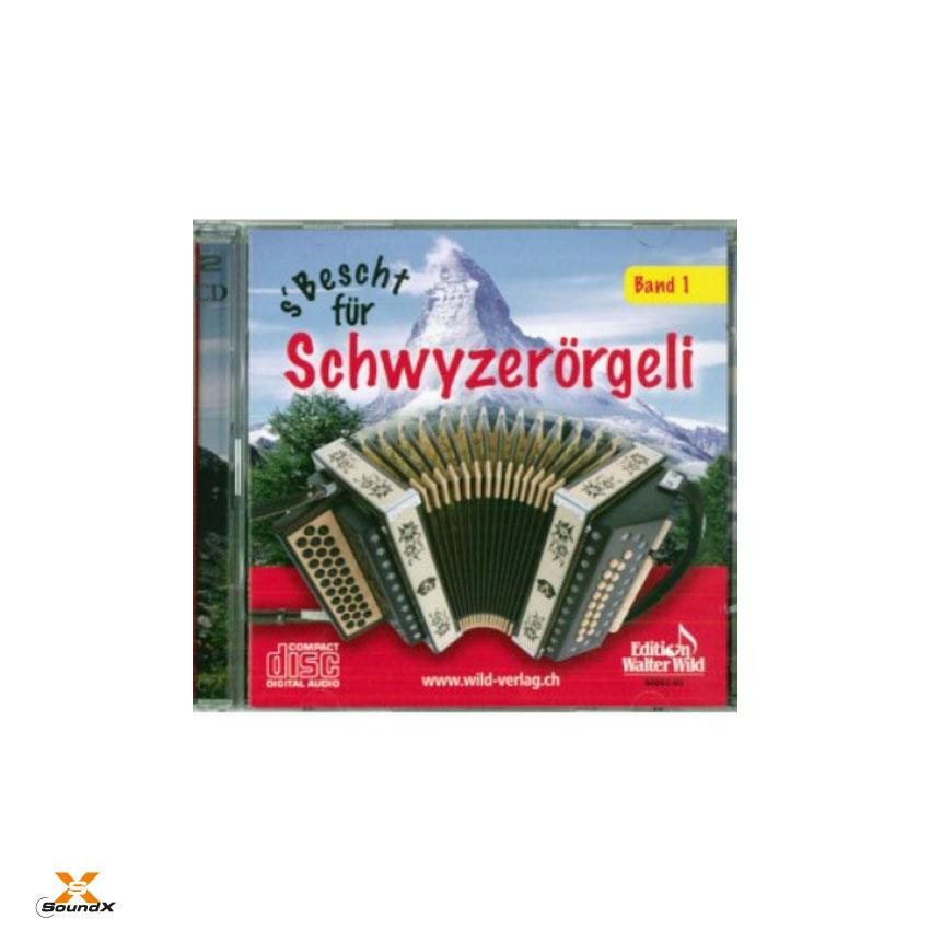 Edition Walter Wild S'bescht für Schwyzerörgeli 1