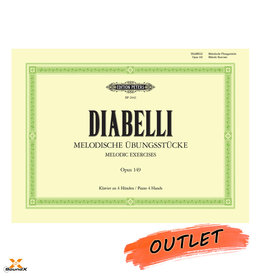 Edition Peters Diabelli Melodische Übungsstücke