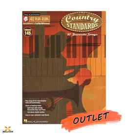 Hal Leonard Jazz Play-Along Vol. 145: Country Standards