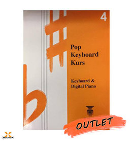 Hal Leonard Pop Keyboard Kurs 4