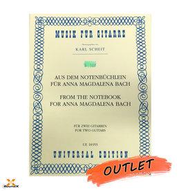 Aus dem Notenbüchlein für Anna Magdalena Bach