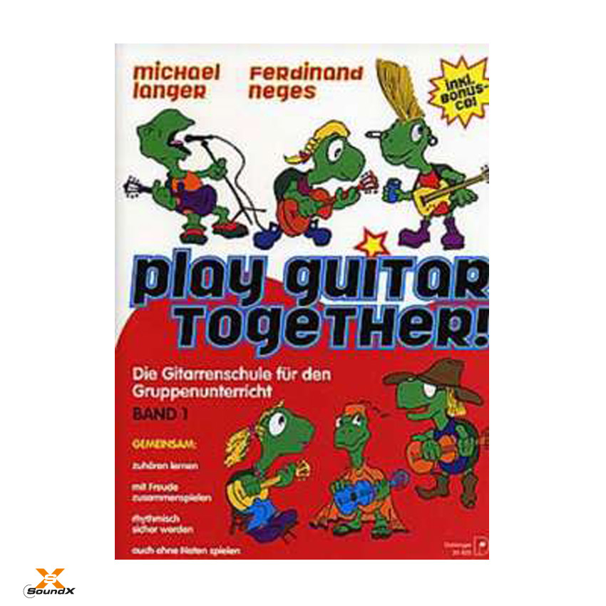 Edition Dux Play Guitar Together Band 1 (altes Cover)