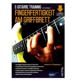 Tunesday Records E-Gitarre Training - Fingerfertigkeit am Griffbrett