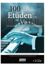 HAGE Die 100 wichtigsten Etüden für Klavier