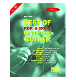 Edition Dux Best of Pop & Rock for Classical Guitar 1