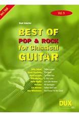 Edition Dux Best of Pop & Rock for Classical Guitar 9