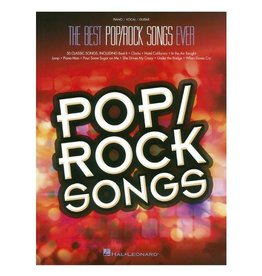 Hal Leonard Best Pop/Rock Songs Ever