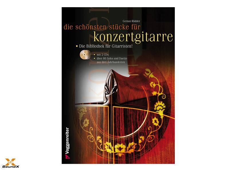 Voggenreiter Die schönsten Stücke für Konzertgitarre