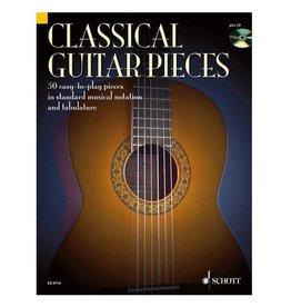 Schott Classical guitar pieces