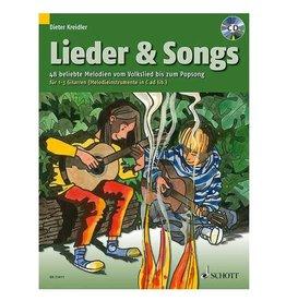 Schott Lieder & Songs - für 1-3 Gitarren