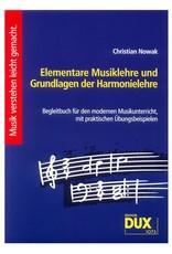 Edition Dux Elementare Musiklehre und Grundlagen der Harmonielehre