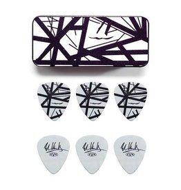 """Dunlop Dunlop Tin Box Eddie Van Halen """"Black Stripes"""""""