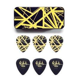 """Dunlop Dunlop Tin Box Eddie Van Halen """"Yellow Stripes"""""""