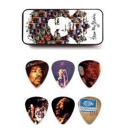 "Dunlop Dunlop Tin Box Jimi Hendrix ""Hear My Music"""