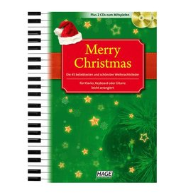 HAGE Merry Christmas mit 2 Playback CDs