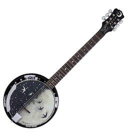 Luna Luna Moonbird 6-String Banjo A/E