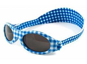BabyBanz BabyBanz Zonnebril - Blue checkers 0-2 jaar.
