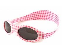 BabyBanz BabyBanz Zonnebril - Pink Checkers 0-2 jaar.