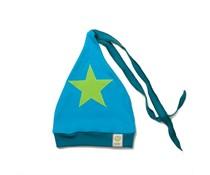 ByKay Baby & peuter mutsje (4M4Y) Petrol/ Turquoise/ Ster Appelgroen