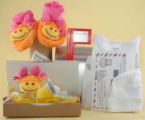 Pack Toys Baby's eerste mailbox Oranje/geel