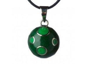 Babylonia Groen met appel groene bolletjes