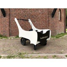 Bolderland Christof PRO Zwart/wit bolderwagen gastouder en kinderdagverblijf - 6 persoons
