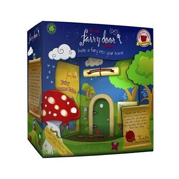 The Irish Fairy Door Company Groen rond feeëndeurtje