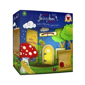 The Irish Fairy Door Company Geel rond feeëndeurtje