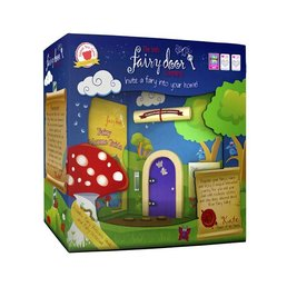 The Irish Fairy Door Company Paars rond feeëndeurtje