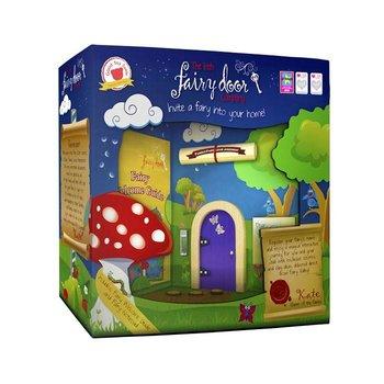 The Irish Fairy Door Company Paars rond feeëndeurtje