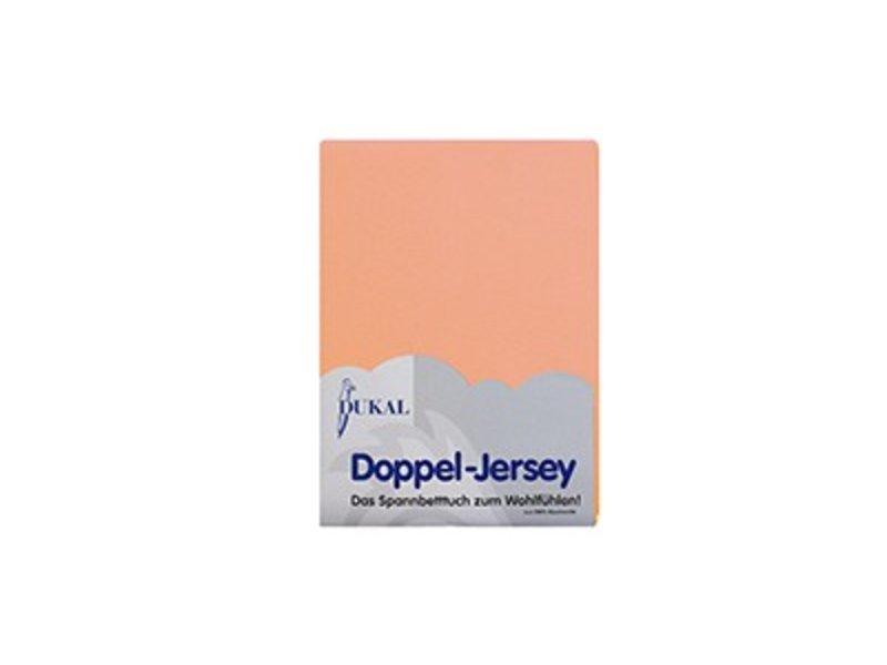 Fixleintuch Doppel-Jersey lachs